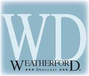 Weatherford Democrat - Logo