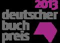 Logo Deutscher Buchpreis 2013.png