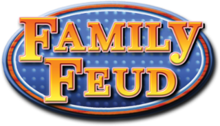 <i>Family Feud</i> American TV game show