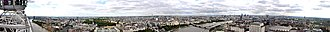 Central London - Image: London 360° Panorama from the London Eye