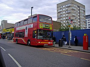 London Buses route 92 Wembley High Rd.jpg