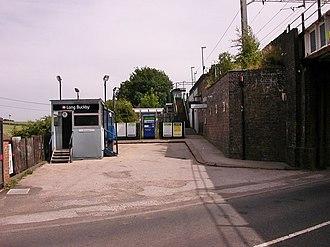 Long Buckby railway station - Station entrance