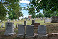 Looking W across section O - Glenwood Cemetery - 2014-09-14.jpg