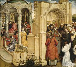 Robert Campin: Marriage of the Virgin