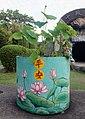 Lotus leaves and peace, Haw Par Villa (14607483087).jpg