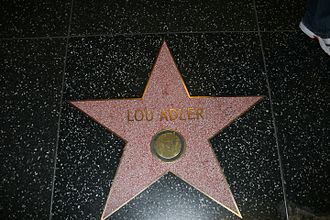 Lou Adler - Adler's star on the Hollywood Walk of Fame