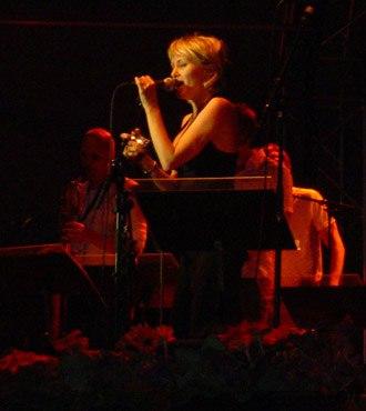 Stockholm Jazz Festival - Louise Hoffsten performing at the Stockholm Jazz Festival in 2003.