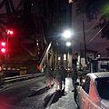 Louisiana National Guard St Claude Avenue Bridge NOLA Ice Jan 2014.jpg