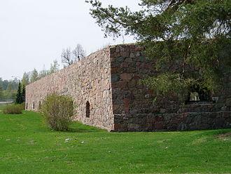 Loviisa - Image: Loviisan linnoitus ungernin kärki