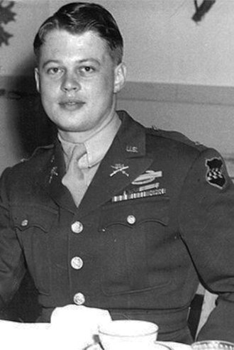 Battle of Lanzerath Ridge - First Lt. Lyle Bouck Jr., at 20 years old,