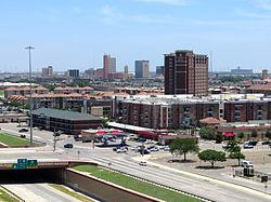 Downtown Lubbock skyline