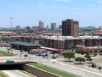 Lubbock, Texas - Downtown Lubbock skyline