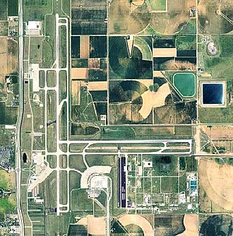 Lubbock Preston Smith International Airport - 2006 orthophoto