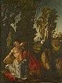 Lucas Cranach d.Ä. - Büßender Hl. Hieronymus (1502, KHM Vienna).jpg