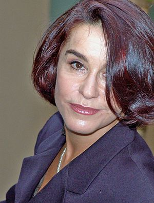 Lucélia Santos - Lucélia Santos on March 7, 2006.