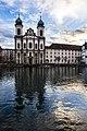 Lucerne Switzerland jesuitenkirche - panoramio.jpg