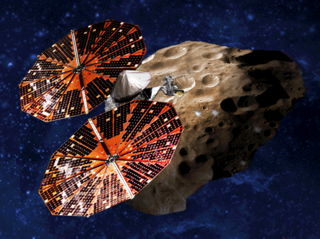 <i>Lucy</i> (spacecraft) Thirteenth mission of the Discovery program; multiple-flyby reconnaissance of five Jupiter trojans