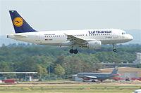 D-AIBD - A319 - Lufthansa