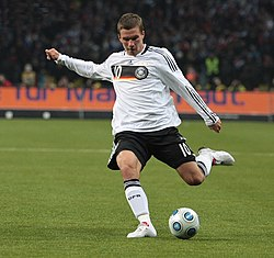 File photo of Lukas Podolski, 2009. Image: Новикова Юлия.