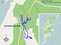 lummelunda karta Lummelunda Cave   Wikipedia lummelunda karta