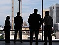 Lunch discussions atop NASCAR tower (3641518435).jpg