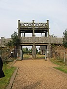 Lunt Roman Fort main gate