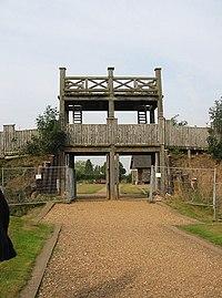 Lunt Roman Fort main gate.jpg