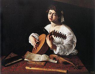 Caravaggio, Suonatore di Liuto