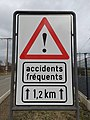 Luxembourg road sign A, 21 accidents.jpg