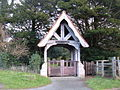 Lych Gate, All Saints Church - geograph.org.uk - 1600718.jpg