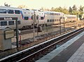 MARC train at Rockville station, April 2007.jpg
