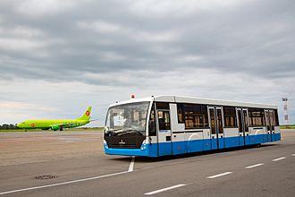 Airport bus - Airside transfer apron bus