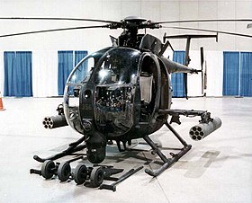 Un AH-6 Little Bird.