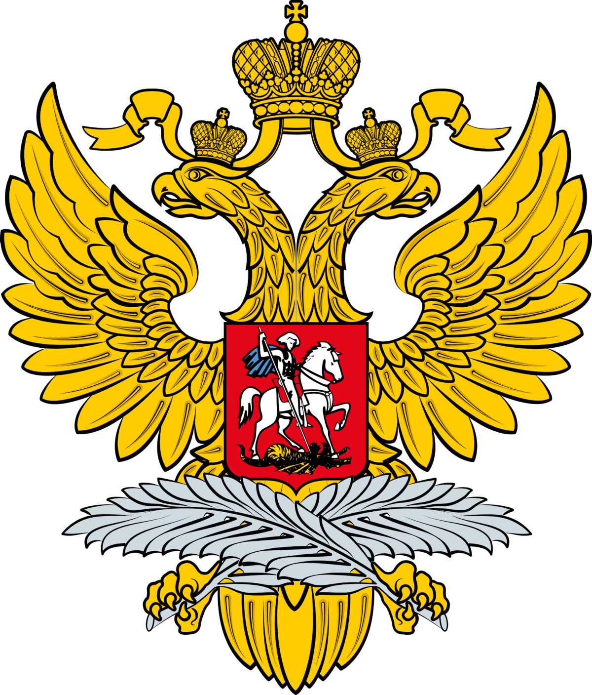 Image result for russian foreign ministry logo