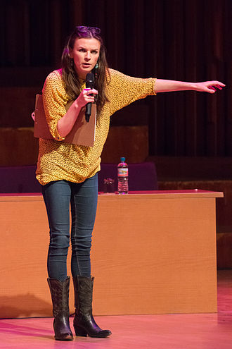 Aisling Bea - Bea on stage
