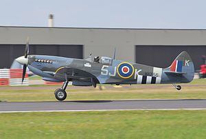 Battle of Britain Memorial Flight - Battle of Britain Memorial Flight Spitfire IX, MK356, 21-V, 2014
