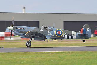 Battle of Britain Memorial Flight - Battle of Britain Memorial Flight Spitfire IX, MK356, 21-V, 2014