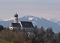 MOD - Pfarrkirche St Martin v N, Edelsberg, Frühling.JPG