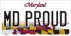 MVA MDProud LicensePlate 390px