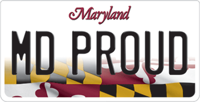 MVA MDProud LicensePlate 390px.png