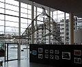 Maastricht, Centre Céramique, zicht op dolfijn in entreehal01.JPG