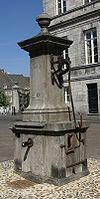 Pomp van hardsteen uit 1824.
