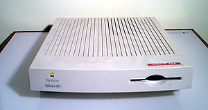 Macintosh LC III - A Performa 460 with the revised front bezel.
