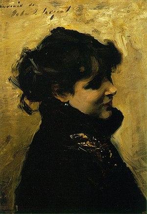 Eugenia Errázuriz - Madame Errazuriz, John Singer Sargent, c. 1880-02