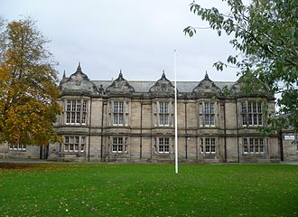 Madras College - Madras College; the senior school building on South Street, St Andrews