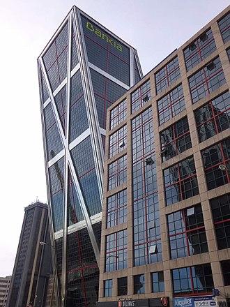 Bankia - Bankia's operational headquarters in Puerta de Europa Tower in Madrid