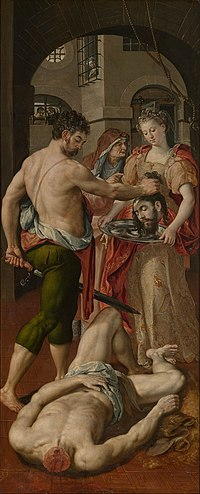 Maerten de Vos - The beheading of St. John the Baptist.jpg