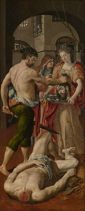The Beheading of Saint John-Baptist