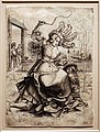Maestro MZ, fillide a cavalcioni di aristotele, 1500 ca, incisione.jpg