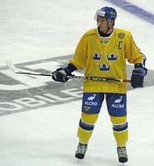 Johansson i landsholdstrøje.